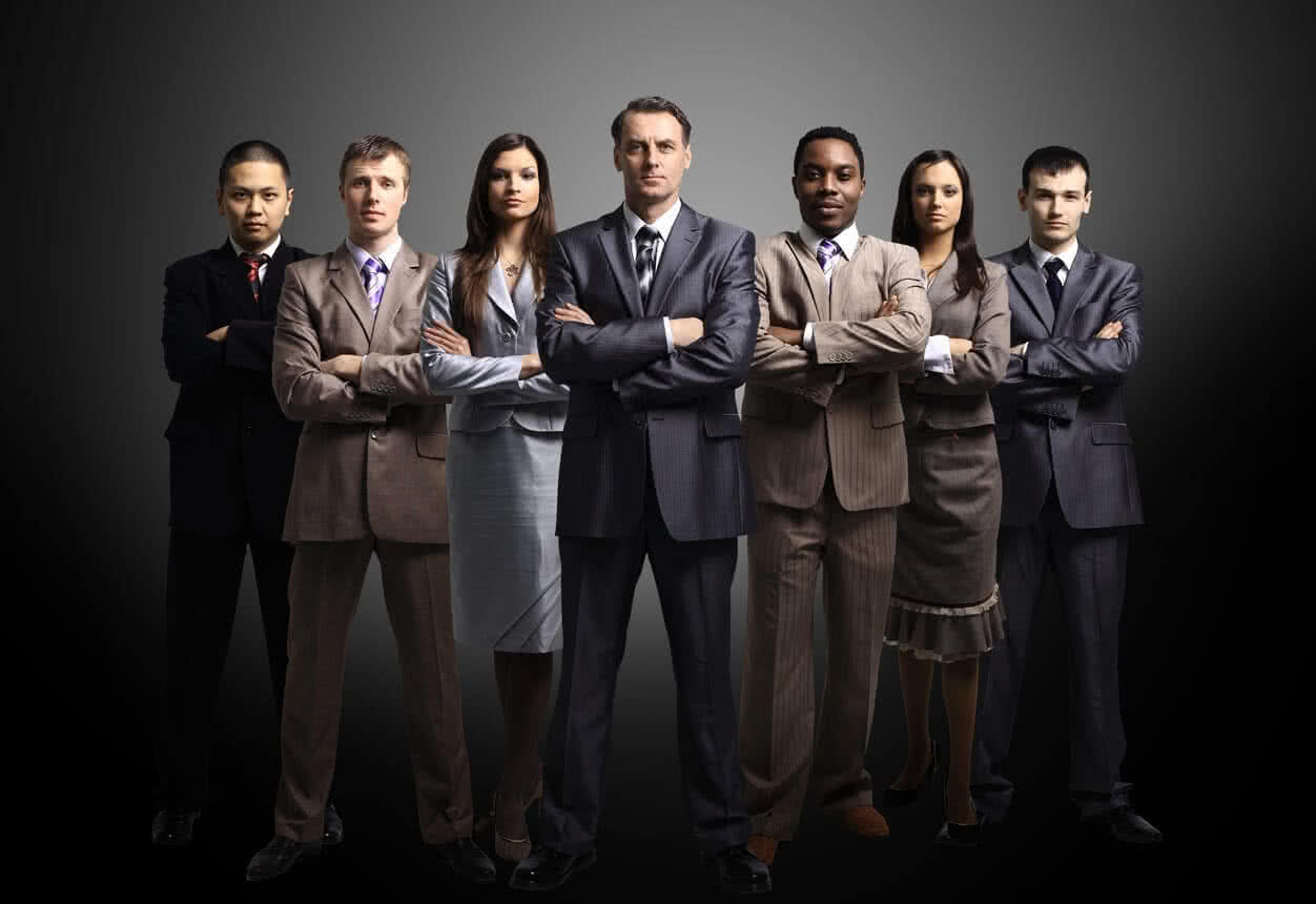 Experienced and trained business professionals