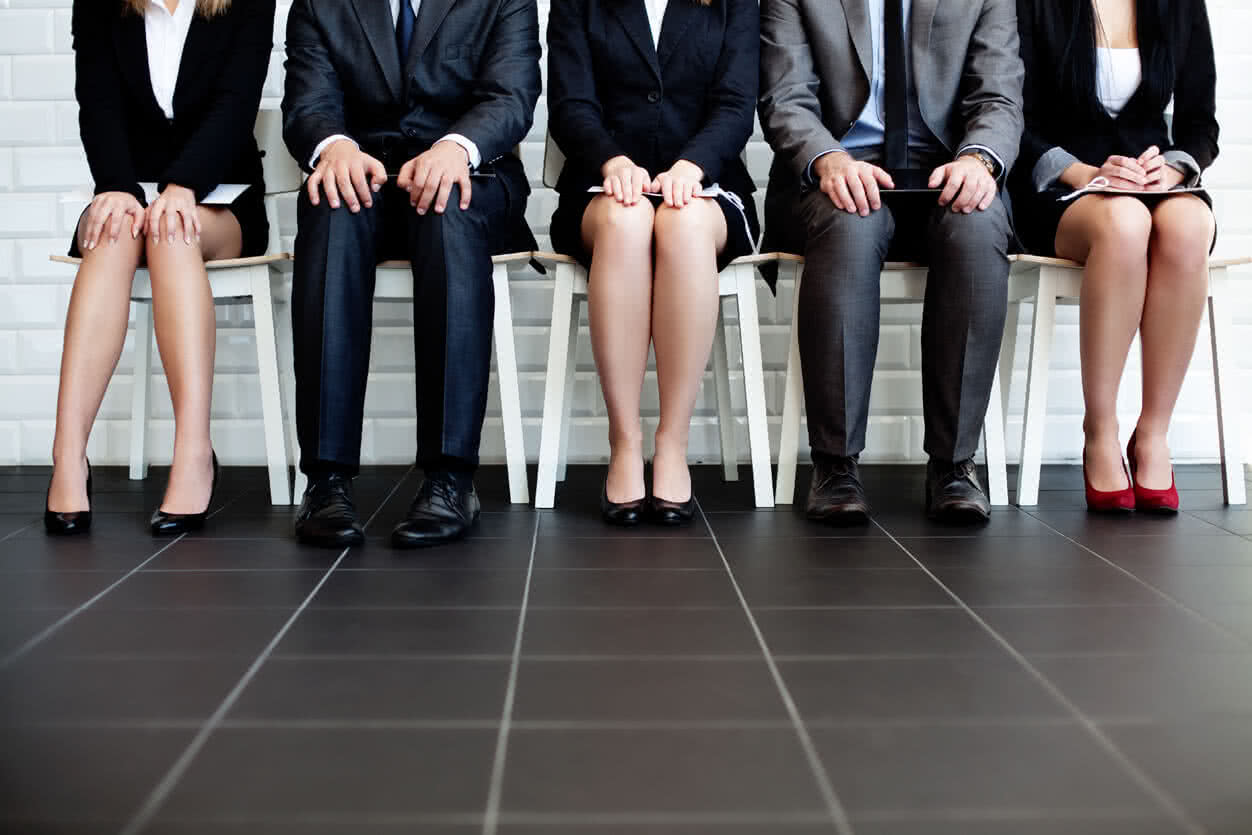 Interviews for temporary and contract employement.
